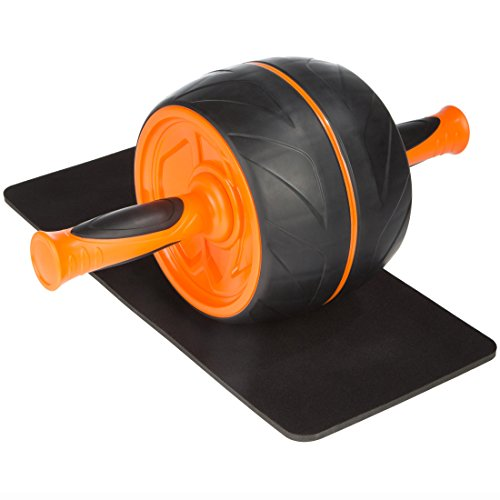 Ultega AB Roller – premium abdominal training incl. floor pad and workout instructions