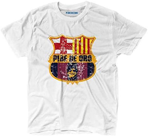 KiarenzaFD Camiseta Camiseta fútbol Vita de Strada del Pibe de Oro Barcelona Grunge 3, KTS01718_XXL, Blanco, XX-Large: Amazon.es: Deportes y aire libre