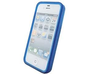 BONAMART ® Azul Mate TPU parachoques Carcasa Caso Funda Silicona Case Cover Para Apple iPhone 4 4S 4GS
