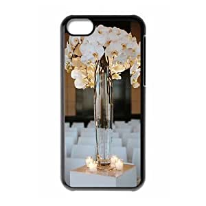 The beautiful vase DIY Cover Case with Hard Shell Protection for Iphone 5C Case lxa#480458