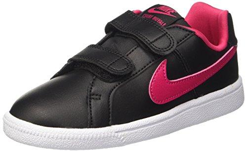 Pink Pink Royale white psv black Enfant Mixte rush Court Court Baskets Noir Nike O7xAawq1