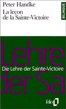 La Leçon de la Sainte-Victoire par Handke