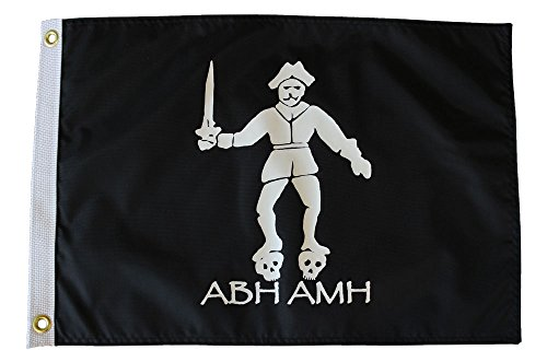Black Bart - 12 in x 18 in Pirate Flag