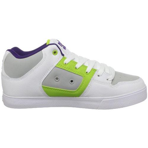 Chaussure De Skate Mince De Radar De Dc Mens, Blanc / Armure, 10 M Us
