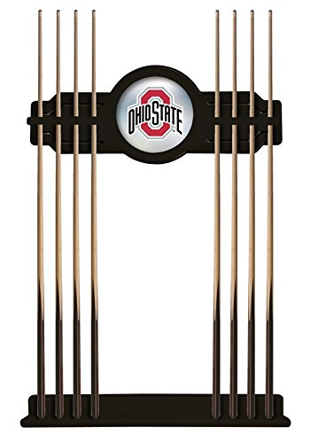 - Holland Bar Stool Co. Ohio State Cue Rack in Black Finish