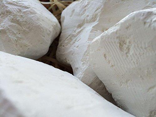 KAMENKA Edible Chalk Chunks (lump) Natural for Eating (Food), 1 lb (450 g) by UCLAYS