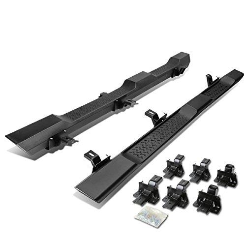 "For Jeep Wrangler JK 4-Door Pair of 5.5"" OE Style Side Step Nerf Bar Running Board (Matte Black)"
