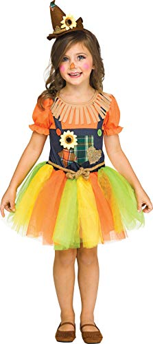 Fun World Sweet Scarecrow Toddler Costume, X-Large, Multicolor