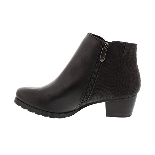 Ant Botas para 25309 Marco Mujer Black Tozzi comb x7CYpY