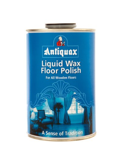 Antiquax 1 Litre Original Liquid Wax Floor Polish, Transparent Rustins ANTQLFW1