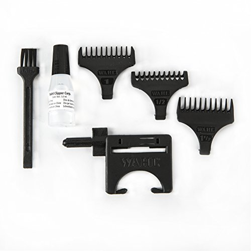 Wahl Professional Corded T Trimmer #8991 – Barbers Powerful – Oil, and Cleaning Brush
