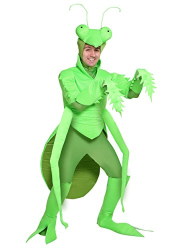 Men's Praying Mantis Costume Large Green -