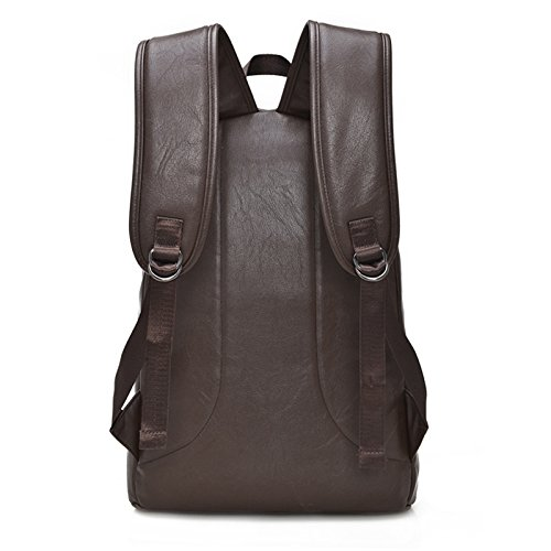 Mochila de los hombros de los hombres para ordenador , brown Brown