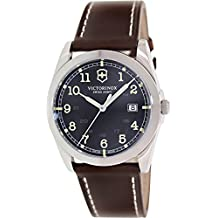 Victorinox Swiss Army Men's Infantry 241563 Brown Leather Swiss Quartz Watch