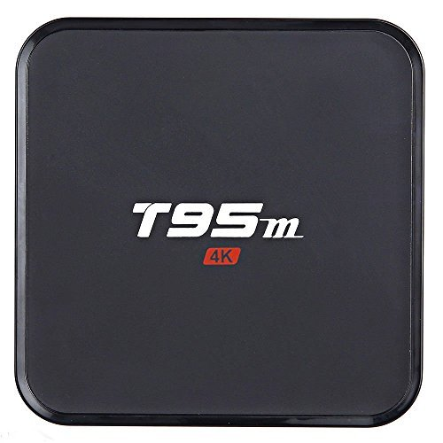 Areware T95M Android 6.0 Google Internet Tv Box With S905X Quad Core 64Bit 1GB 8GB 2.4GHz WiFi Support 4K HD by Areware