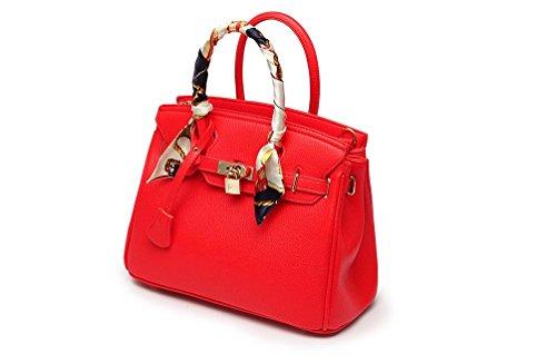 Gris Red taille Nouveau femmes'S Sac Large Red LEODIKA sac de main Spanning mariage bandoulière obliquité Sac grand sac Bride produit à Big grande sac 14wWFpgc