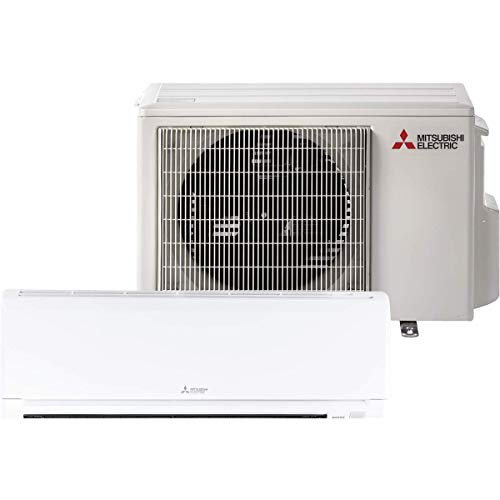Mitsubishi 12,000 Btu 23.1 Seer Single Zone Ductless Mini Split Heat Pump System (AC and Heat)