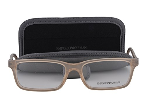 Emporio Armani EA 3005 Eyeglasses 53-16-140 Opal Brown Pearl 5084 - Safilo Www