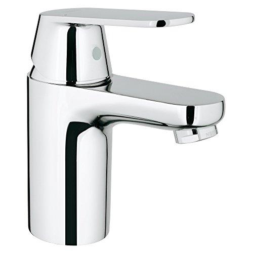 - Eurosmart Cosmopolitan S-Size Single-Handle Single-Hole Bathroom Faucet Without Pop Up - 1.2 GPM