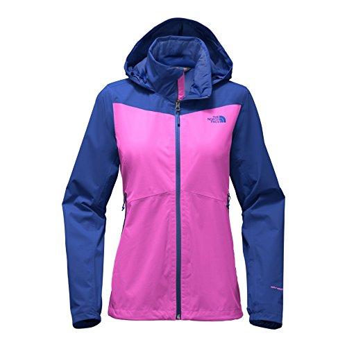 The North Face Women's Resolve Plus Jacket - Violet Pink & Soda Lite Blue - S -