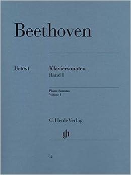 Beethoven : Piano Sonates, volume 1