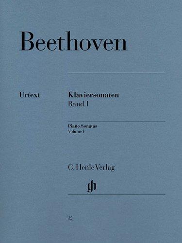 Music Sonata Sheets Moonlight (Beethoven: Piano Sonatas - Volume I)