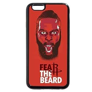 TYH - Onelee(TM) - Customized Black Soft Rubber TPU iPhone 6 Plus 5.5 Case, NBA Superstar Houston Rockets James Harden iPhone 6 Plus 5.5 Case phone case