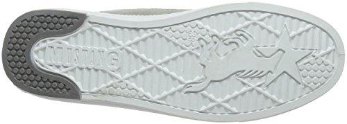 a Alto Ice Bianco Sneaker 203 Donna Mustang 504 1246 Collo ITZU7U
