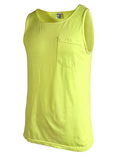 (Comfort Colors - Garment Dyed Tank with a Pocket - 9330)