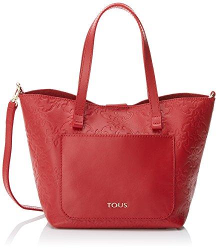Totes Mujer 17x19x20 Bolso red L Rojo X Mossaic Pequeño Tous Para H Cm w q8RtgRB