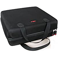 Hard EVA Travel Case for ViewSonic PJD5155 / PJD5255 / PJD5555W / PJD7828HDL 3300 Lumens SVGA HDMI Projector by Hermitshell