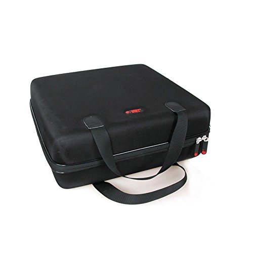 Hard EVA Travel Case for ViewSonic PJD5155 / PJD5255 / PJD5555W / PJD7828HDL 3300 Lumens SVGA HDMI Projector by Hermitshell by Hermitshell