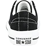 Converse One Star Ox Black Suede 3 US Child