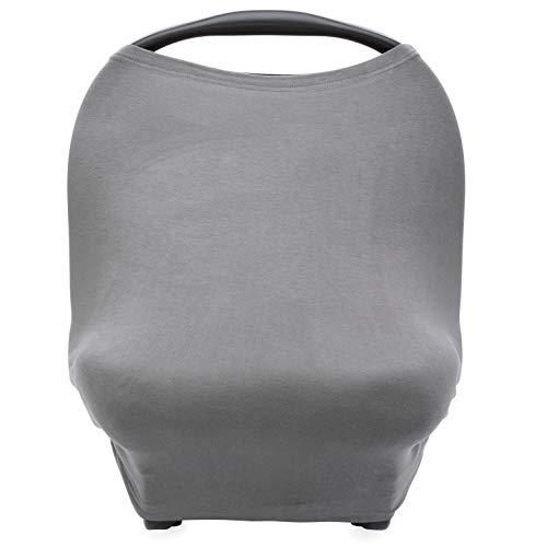 solid blue car seat covers - 4