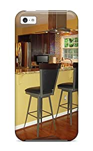 Premium Kitchen Counter With Bar Stools Separate Living Room From Cooking Area Heavy Duty Protection Case For Iphone 5c
