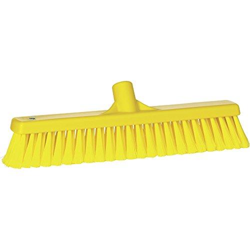VIKAN Yellow Heavy Duty Floor Broom - Duty Floor Broom Heavy