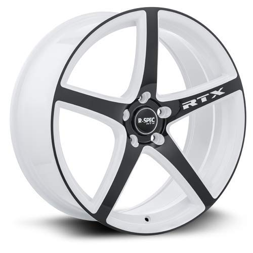 RTX R-Spec Illusion Wheels/Rims 17x7.5 inch 114.3 ET45 White Black