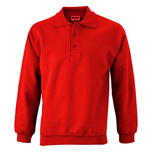 James Sweat Longues Polo shirt Nicholson Rouge Manches amp; H88rWzZTqc