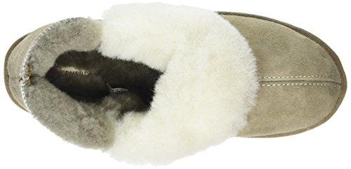 Shepherd Karin, Zapatillas de Estar por Casa para Mujer Beige - Beige (Stone/White 27)