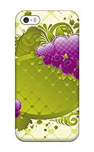 For Iphone Case, High Quality Love Design 3 For Iphone 5/5s Cover Cases