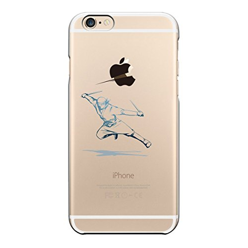 iPhone6 4.7 inch7 Transparent shell Ninja The rescue apples !
