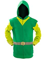 Ya-cos The Legend of Zelda Link Hooded Hyrule Warriors Zipper Coat Jacket Green