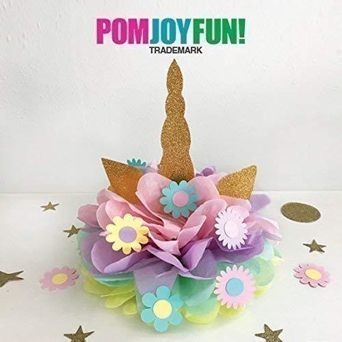 Unicorn Pom Centerpieces