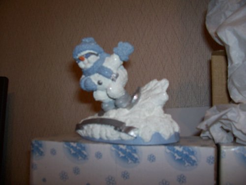 Snow Buddies Figurine Snow Boarding ()