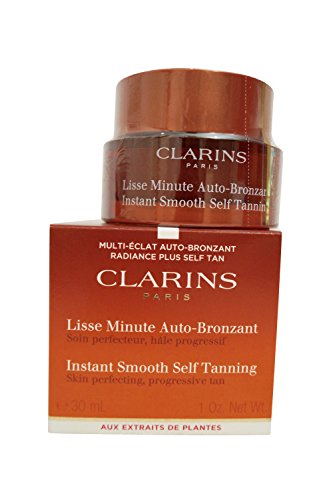 Clarins Instant Smooth Self Tanning Golden Glow 1.0 Oz.