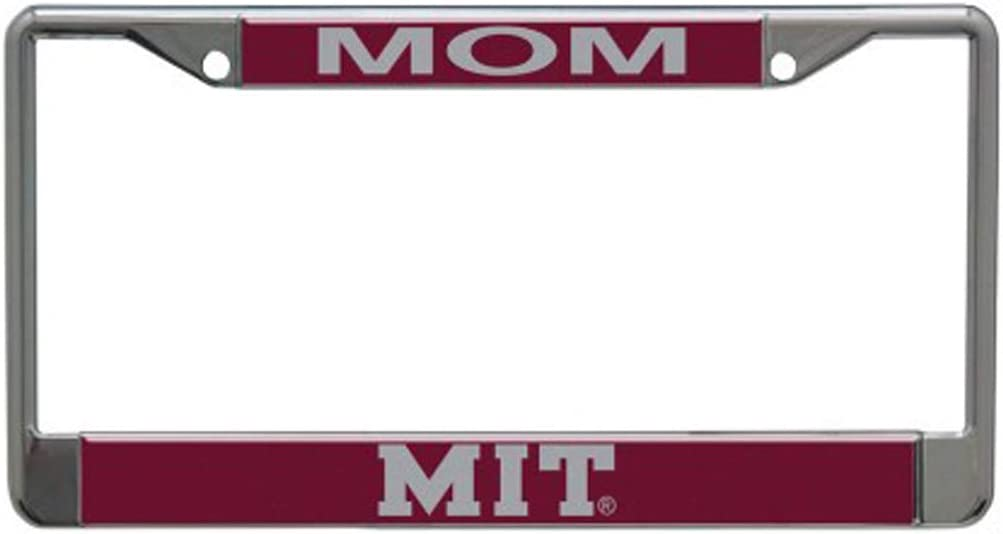 2-Tag Corners WinCraft NCAA University North Texas Mean Green Inlaid Metal License Plate Frame