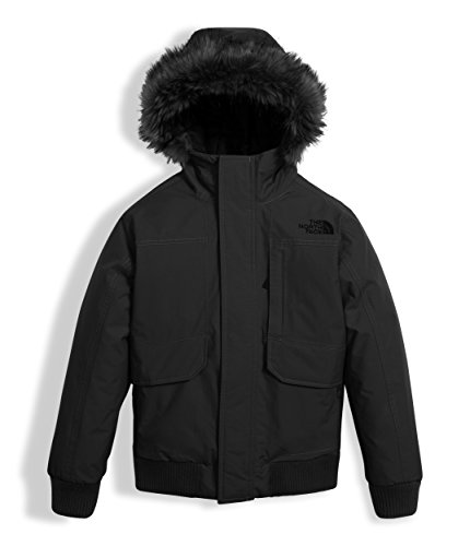 The North Face Boy's Gotham Down Jacket - Black - 2XS (Past Season) by The North Face