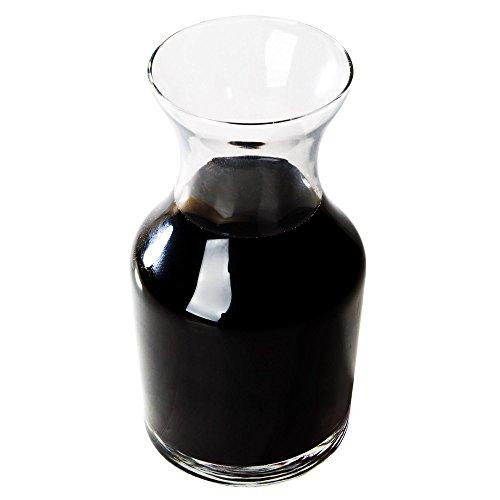 (Libbey 719 Glass 8.5 oz Cocktail Decanter / Bud Vase, SET OF 6 w/Signature Cocktail Picks )