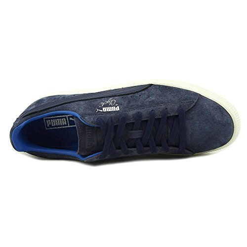 Puma Select Heren Clyde Normcore Sneakers Peacoat / Wit
