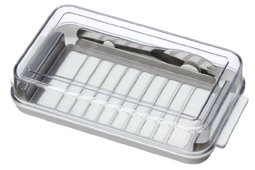 (Stainless Butter Cutter & Case Btg2dx (With a Butter Knife)(Japan Import))